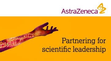 Advertisement: Astrazeneca side banner