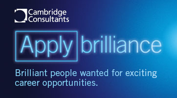 Advertisement: Cambridge Consultants