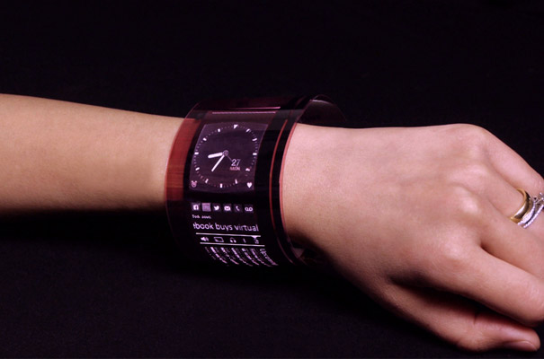 FlexEnable Flex OLED watch