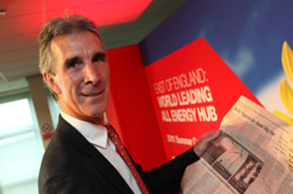 The energy sector is big news - says EEEGR chairman Alan Barlow - and the East of England is ready to hit the headlines.