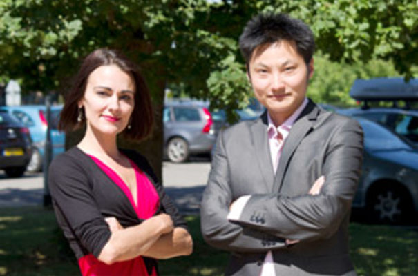 Axol marketing director Naomi Wessel-Carpenter with CEO Dr Yichen Shi