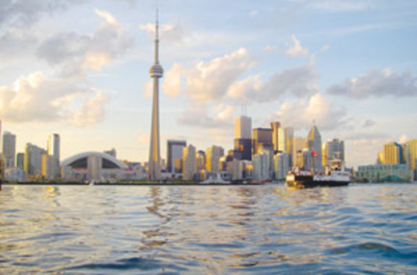 The Toronto skyline. Photograph by John Vetterli
