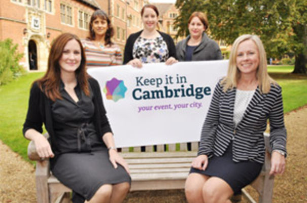 The team at Conference Cambridge