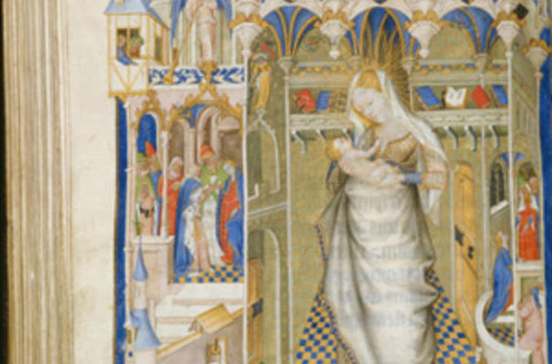 Painting from The Hours of Isabella Stuart, France, c.1431; credit: The Fitzwilliam Museum