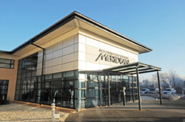 The Meridian headquarters in Cambridgeshire