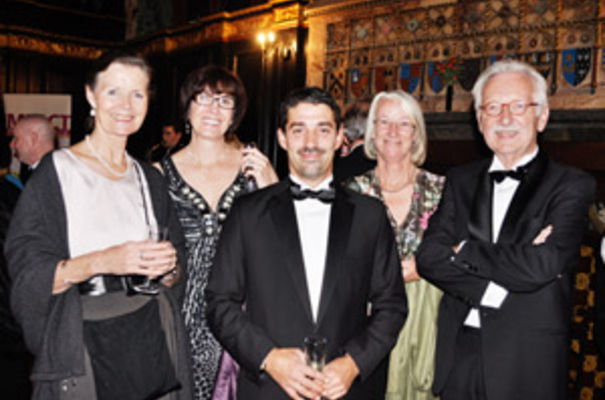 From left to right – Cecile Grahame, Carolyn Douthwaite, Will Axon, Jan Lovegrove, Hubert Frencken