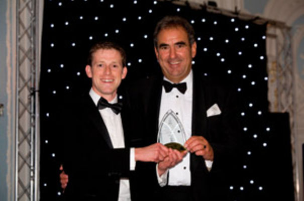 Nick Diggle, director of Martin & Co in Cambridge (left) with Andy Young of ARLA Mortgages