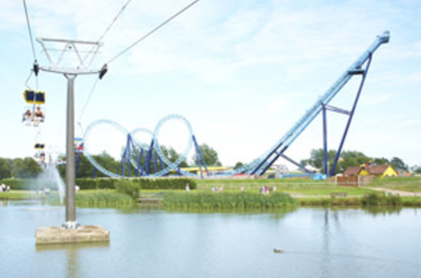 The Wipeout Chairlift at Pleasurewood Hills