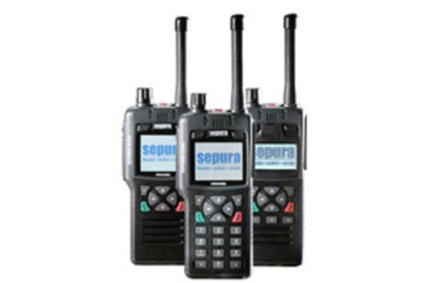 Sepura's recently-launched STP9000 hand-portable radios
