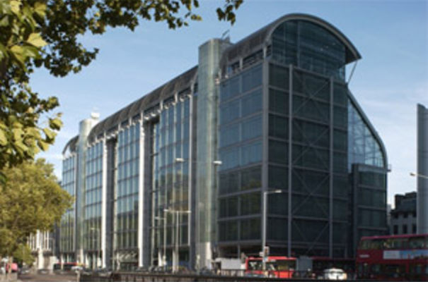 Wellcome Trust HQ in London. Courtesy Wellcome Library.