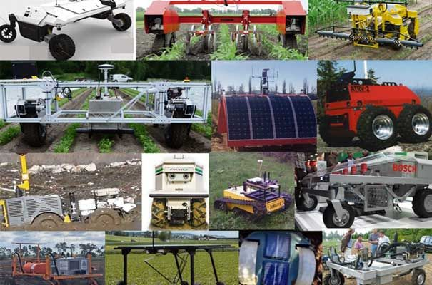 Agriculture robots IDTechEx