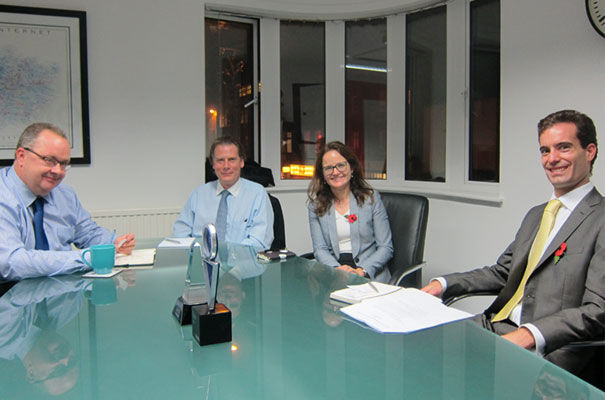 Bank of England visits SyndicateRoom