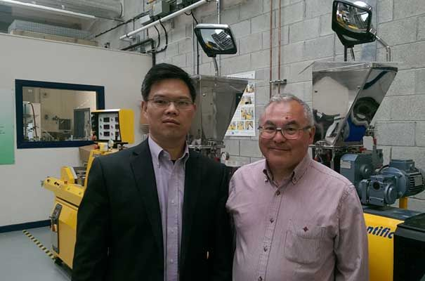 Dr Gareth Roberts and Dr Xiaobin Zhao