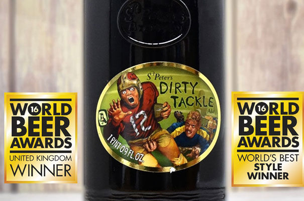 St Peter's Brewery Dirty Tackle ale