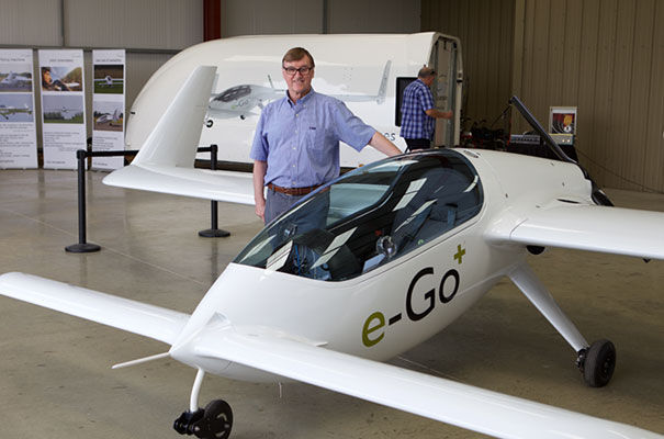 e-Go aeroplanes - ultra-lightweight hi-tech single seater plane