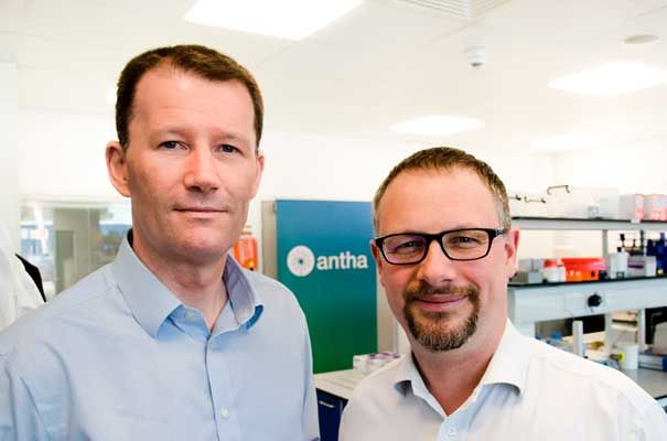 Tim Fell of Synthace with Richard Hammond of Cambridge Consultants