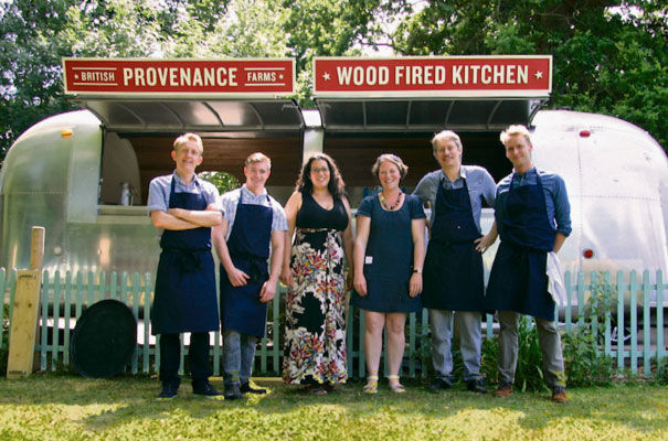 Provenance Kitchen founders Mark Hughes Richard Stokes and Greg Proud