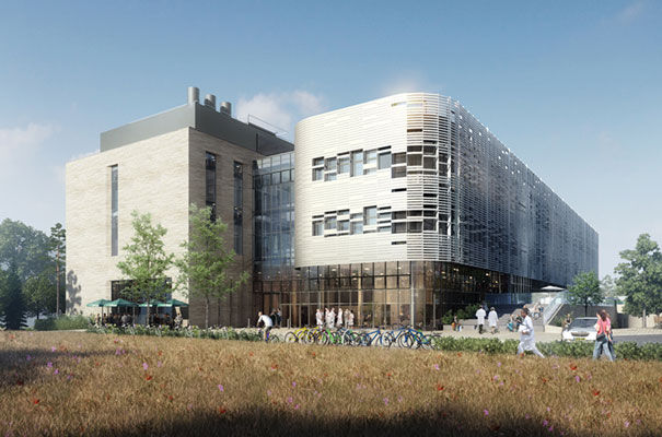 The Quadram Institute which is expected to open in Norwich in 2018
