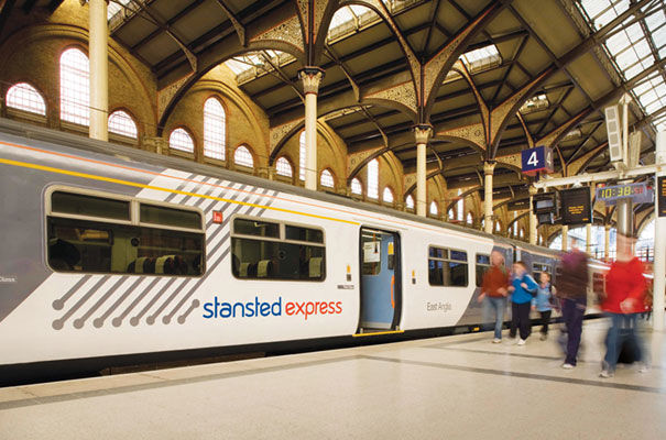 how to get to stansted airport early morning