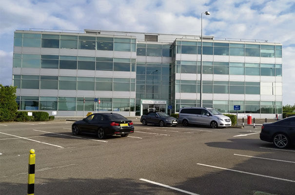 Endeavour House by Stansted Airport