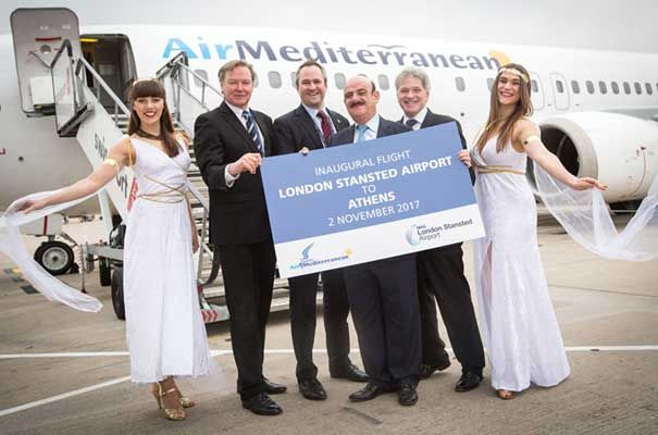 Stansted Air Mediterranean Athens