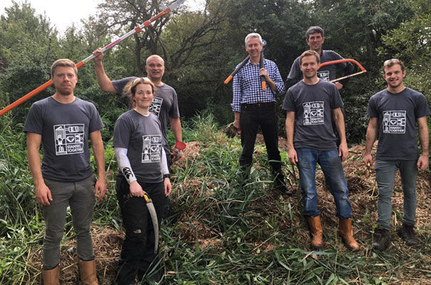 Wicken Fen stantec staff
