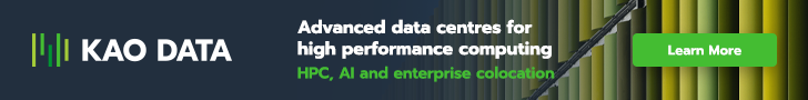 Advertisement: Kao Data Centre