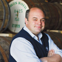 Andrew Nelstrop, managing director of English Whisky