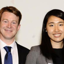 Dr Roger Coulston and Dr Jing Zhang. Image credit: Royal Society of Chemistry.
