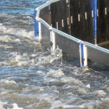Floodsense has supplied national construction company, Volker Stevin, with 125 Meters of Aquafence fencing