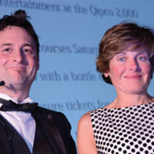 Chris Heron with Jane Paterson-Todd