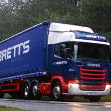 Bretts has a fleet of more than 80 vehicles