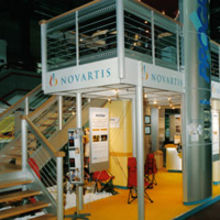 A stand built for Novartis
