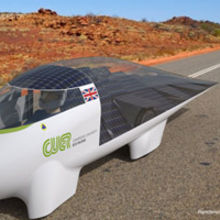 CUER will be showcasing their new design for the World Solar Challenge in Australia