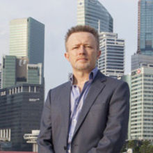 Miles Upton, who heads the company's Singapore office