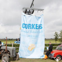Corkers Crisps will unveil what it's calling the world's largest bag of crisps