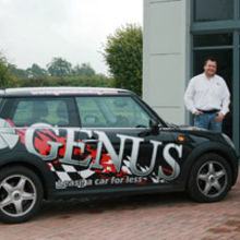 Genus directors Tony Davis and Alan Beckett