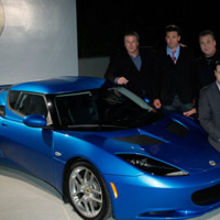 Hollywood stars, the Baldwin brothers showcase Lotus' star quality at a Los Angeles party last year