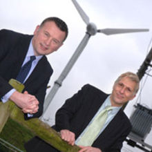 Ian Burrow of NatWest and Dr Jonathan Scurlock of the NFU