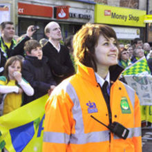 EventGuard provided security at the Norwich City FC promotion parade
