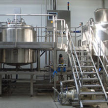 The installation at Larco Foods which produces 9000 kg of healthier soup an hour