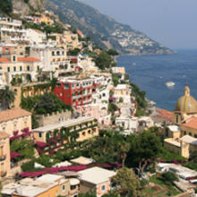 Positano-now on Cambridge's flightpath