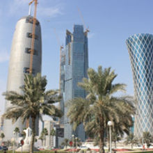 Doha, the Qatar capital. Picture courtesy: Wikipedia user – Kangxi emperor6868