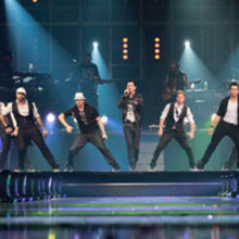 The BackStreet Boys and New Kids on The Block on their US tour