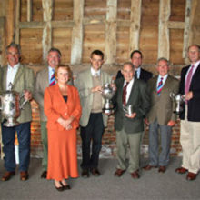 Winners of the 2011 Farm Business Competition with Christopher Bushby from SAA and David Nunn, Suffolk Show director
