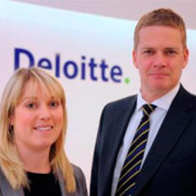 New office senior partner Paul Schofield and new tax partner Lizzie Hill