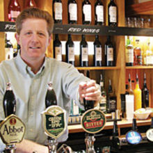 Steve Murphy, owner of The Old Spring in Cambridge