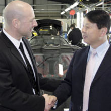 Michael Och, Director of Production (Lotus) and Chinese Minister Counsellor
