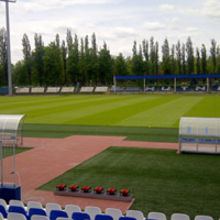 The Euro 2012 England training camp pitch in Poland has been grown from Barenbrug grass seed.