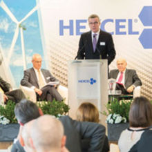 Hexcel executives launching major expansion at the Duxford site
